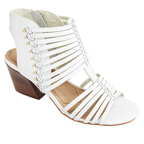 Lucca Lane Jadena Strappy Leather Dress Sandal