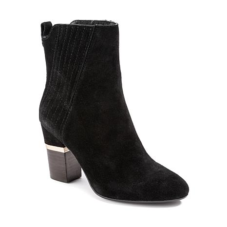 Lucca Lane Jadia Suede Fashion Bootie