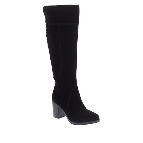 Lucca Lane Rinah Suede Over-the-Knee Boot