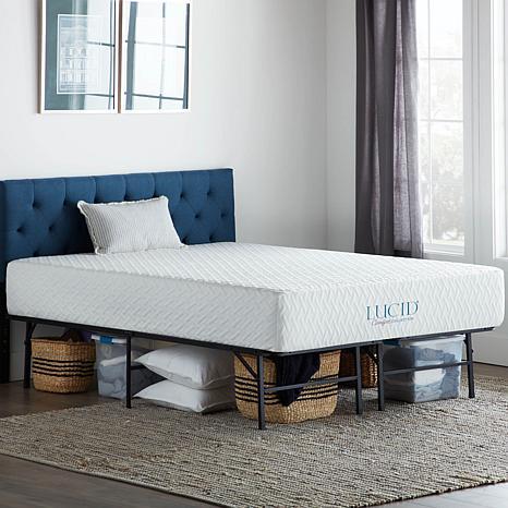 Lucid Comfort Collection Platform King Bed Frame