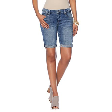 Lucky Brand Stretch Denim Bermuda Short - Missy