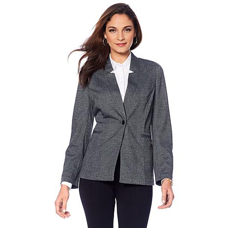 LYSSE Lyssentials Tailored Ponte Blazer - Missy