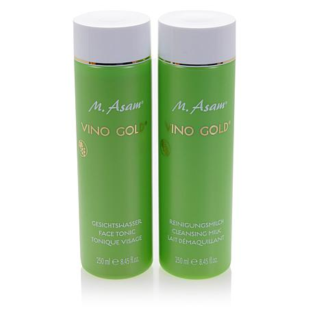 M. Asam VINO GOLD Face Cleansing Duo