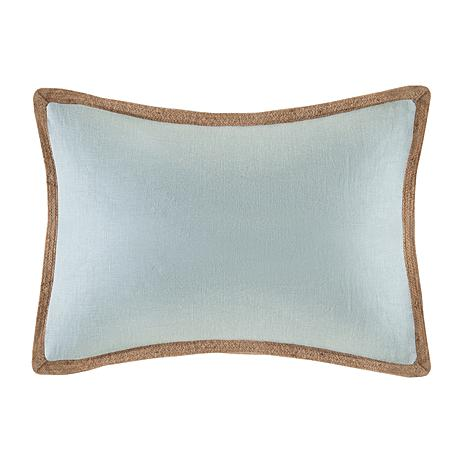 Madison Park Embroidered Decorative Oblong Pillow