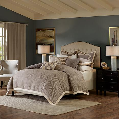 Madison Park Signature Shades of Gray Comforter Set Gray Queen