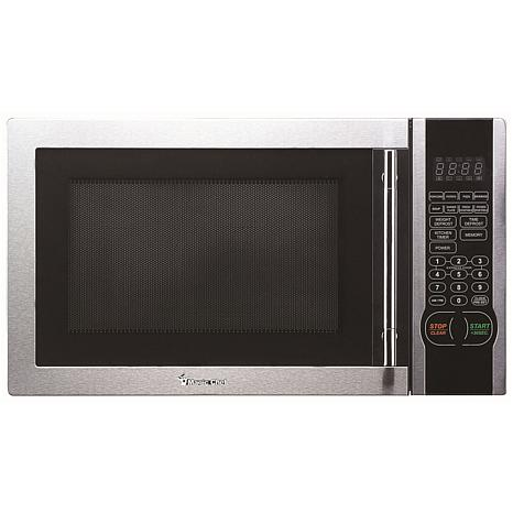 Magic Chef 1 Cu Ft 1000w Countertop Microwave Oven W Stylish Handle 8858807 Hsn