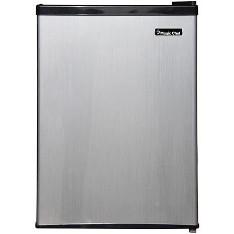 Magic Chef 2.4 Cu. Ft. w/Half-Width Freezer Compact Refrigerator