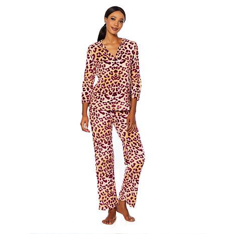 Maidenform Cozy Fleece Top and Pant Pajama Set