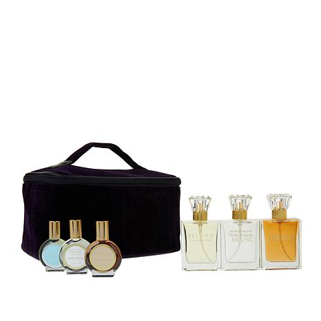 Marilyn Miglin Classics 6-piece Fragrance Collection with Train Case