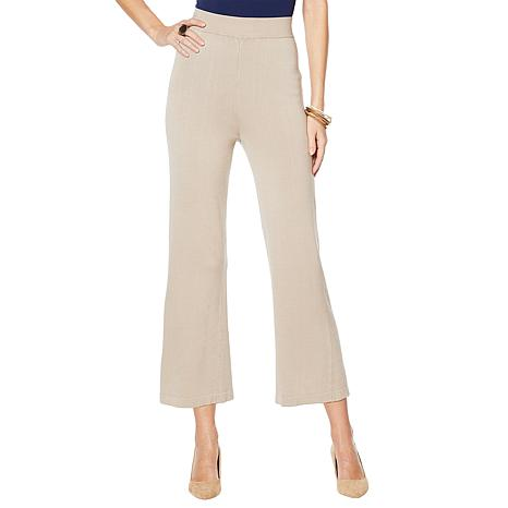 MarlaWynne Cropped Knit Pant
