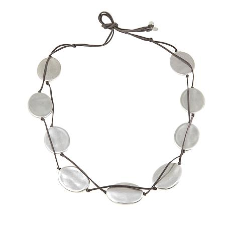 MarlaWynne Oval Station Convertible Belt/Necklace