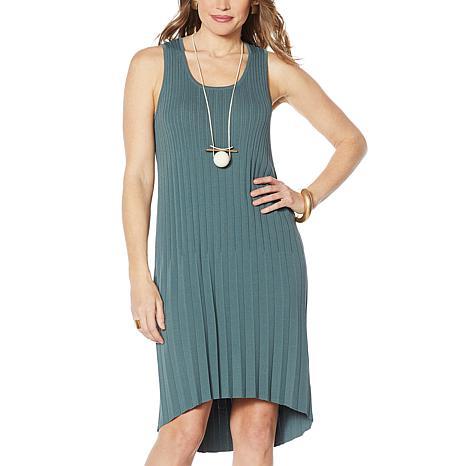 MarlaWynne Pleated Knit Dress