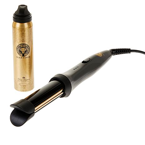 Martino Cartier Double the Fun Curling Wand with Shine Spray