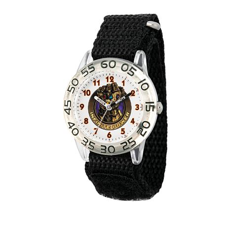 Marvel Infinity Gauntlet Kid's Time-Teacher Watch with Black Strap