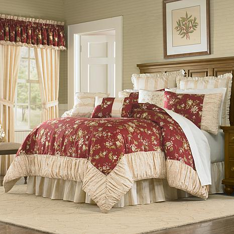 MaryJane's Home Sunset Serenade 4pc Comforter Set - Queen