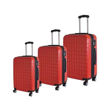 McBrine Eco-Friendly 3-piece Hard-Sided Luggage Set - 7732132 | HSN