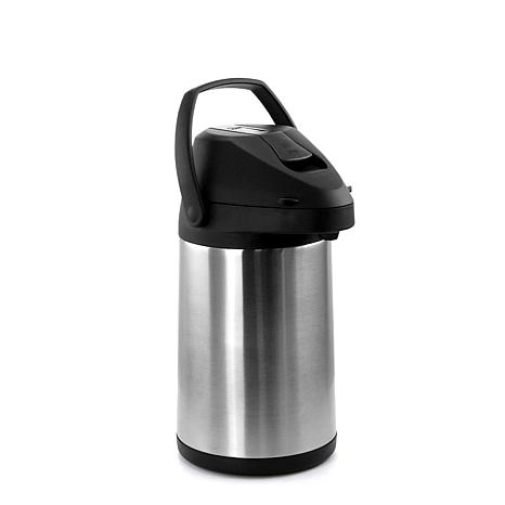 MegaChef 3L Stainless Steel Airpot, Hot Water Dispenser for Coffee ...