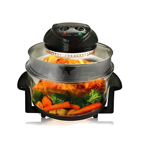 MegaChef Multipurpose Countertop Halogen Oven Air Fryer/Rotisserie/...