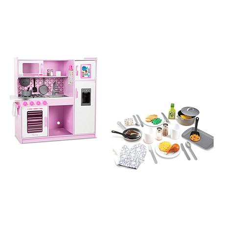 Melissa And Doug Chef S Cupcake And Accessory Set Bundle 9586505 Hsn