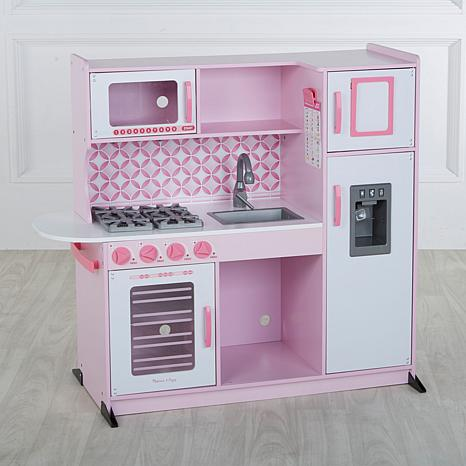 Melissa & Doug Chef's Play Kitchen with Accessory Set