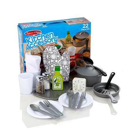Melissa And Doug Kitchen Set | Melissa And Doug Kitchen Food Melissa Doug Chefs Play