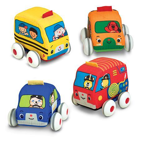 Melissa and Doug Pull-Back Vehicles