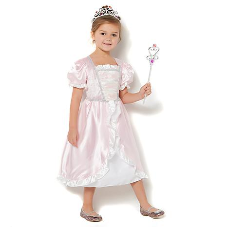 Melissa & Doug Ruffles & Regal Little Princess Costume