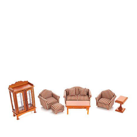 Melissa & Doug Victorian Living Room Doll House Pieces