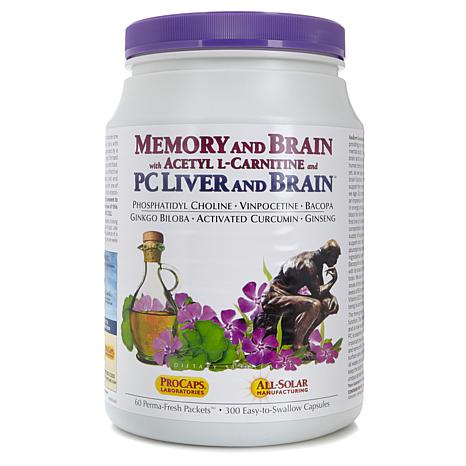 Memory and Brain with Acetyl L-Carnitine-60 Packets
