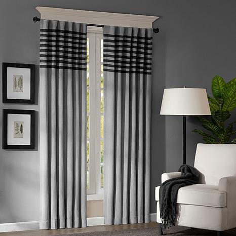 Meyers 63-inch Window Panel Pair - Gray