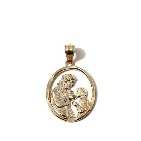 Michael Anthony® 10K Gold Holy Communion Pendant