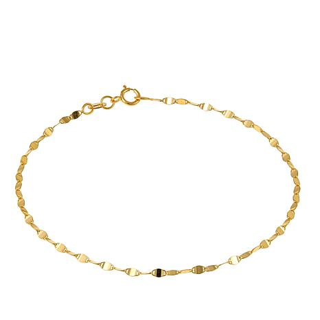 "Michael Anthony Jewelry® 10K Brillante Chain 7-1/2"" Bracelet"