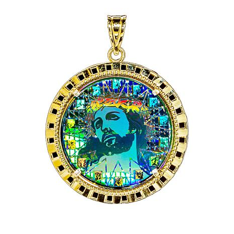 Michael anthony jewelry 10k christ head digital hologram pendant michael anthony jewelry 10k christ head pendant aloadofball Choice Image