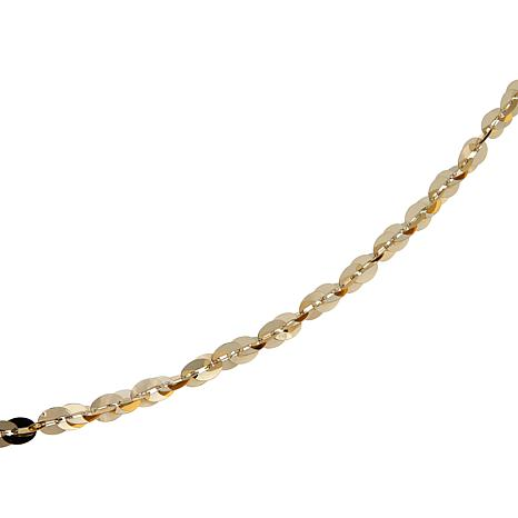 Michael Anthony Jewelry® 10K Cleo Link Chain - 30""