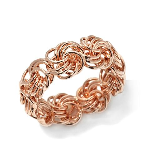 Michael Anthony Jewelry® 10K Rosette Band Ring