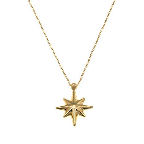 Michael Anthony Jewelry® 10K Star Pendant with Chain