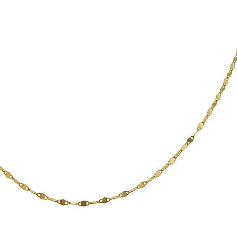"""Michael Anthony Jewelry® 14K Twisted Mariner Link 22"""" Chain Necklace"""