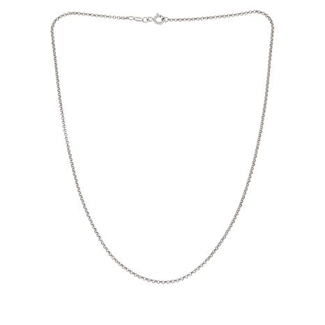 "Michael Anthony Jewelry® 16"" Sterling Silver Rolo Chain Necklace"