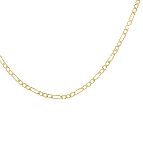 "Michael Anthony Jewelry® 20"" 10K Figaro Chain Necklace"