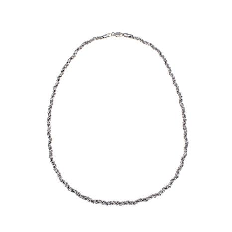 Michael Anthony Jewelry® Bead-Wrapped Rope Chain - 22""