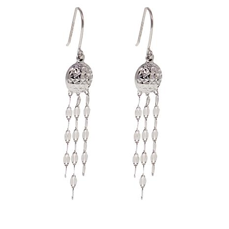 Michael Anthony Jewelry® Tassel Drop Sterling Silver Earrings