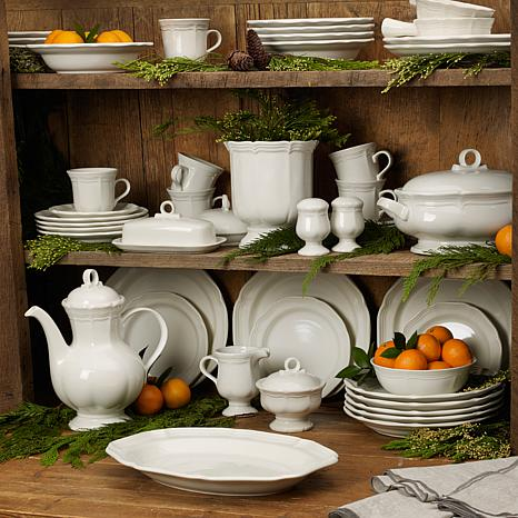 & Mikasa French Country White 5-piece Place Setting - 8102259 | HSN