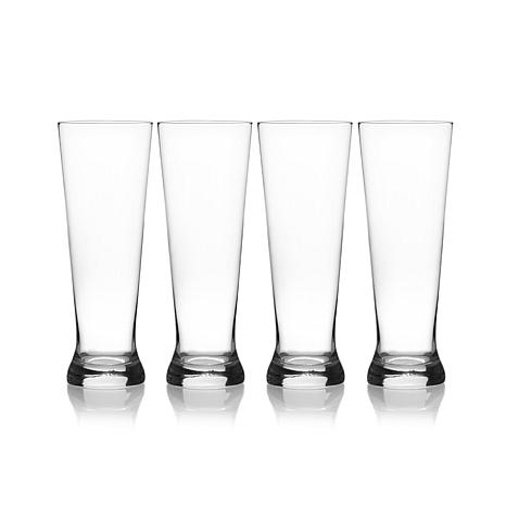 Mikasa Laura Set of 4 Pilsner Glasses