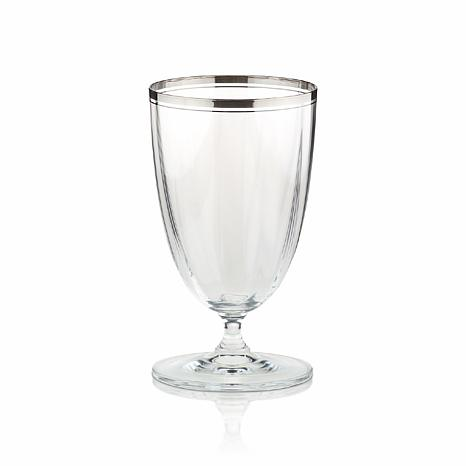 Mikasa Stephanie Platinum Ice Tea Glass
