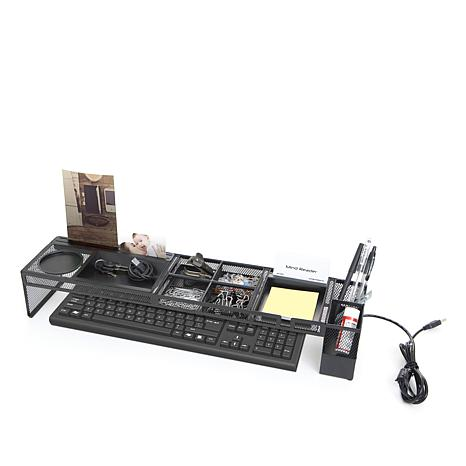 Mind Reader Desk Organizer Charging Station