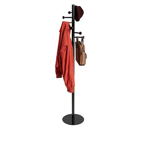 Mind Reader Free-Standing 7-Hook Metal Coat Rack