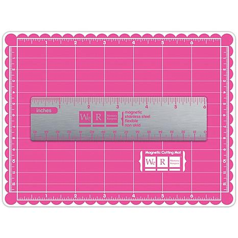 Mini Magnetic Cutting Mat And Ruler Set 7200521 Hsn