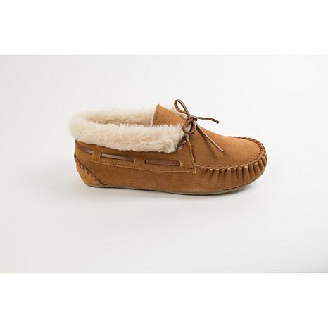 Minnetonka Chrissy Bootie Slippers Wide