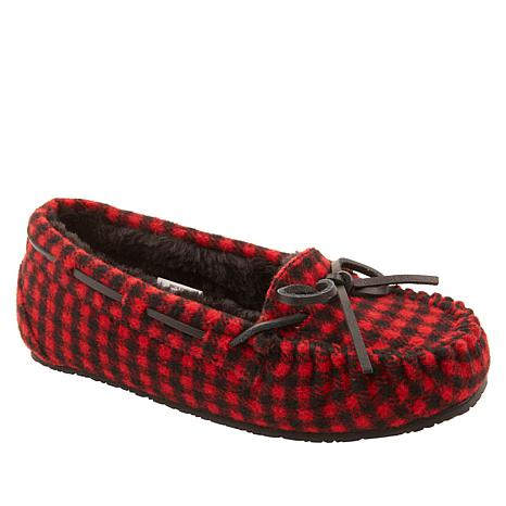 Minnetonka Jess Kid's Flannel Slipper