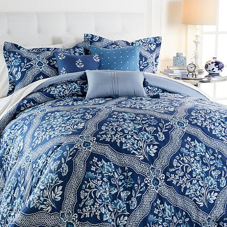 capristripe capri comforter grande seaside bedding set jill jillrosenwald beddingensemble seasideaqua collections stripe rosenwald aqua comfort